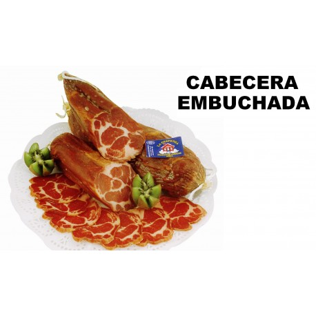 CABECERA EMBUCHADA, AL VACÍO 1Kg Aprox caducidad 9 meses