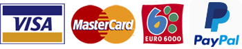 Pago con tarjeta VISA MasterCard Euro6000 PayPal